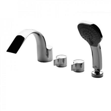 Смеситель для ванны врезной на 4 отверстия Ideal Standard Меланж A4293AA