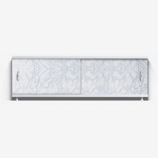 Экран под ванну Классик 150 светло-серый мрамор