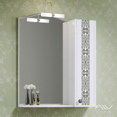 Шкаф зеркальный Elizabeth 65 белый