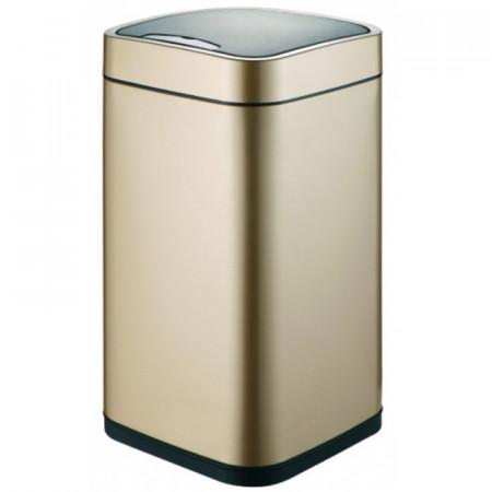 Ведро для мусора WeltWasser Rone CG 12L сенсорное 10000000879 Шампань Золото