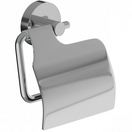 Держатель туалетной бумаги Iddis Sena SENSSC0i43 с крышкой Хром